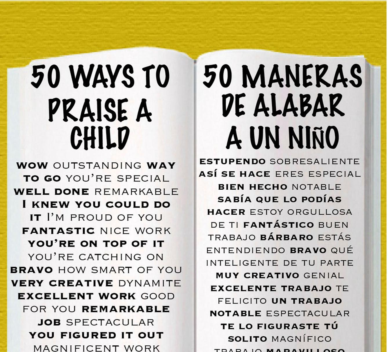 50 Ways side by side bookmark