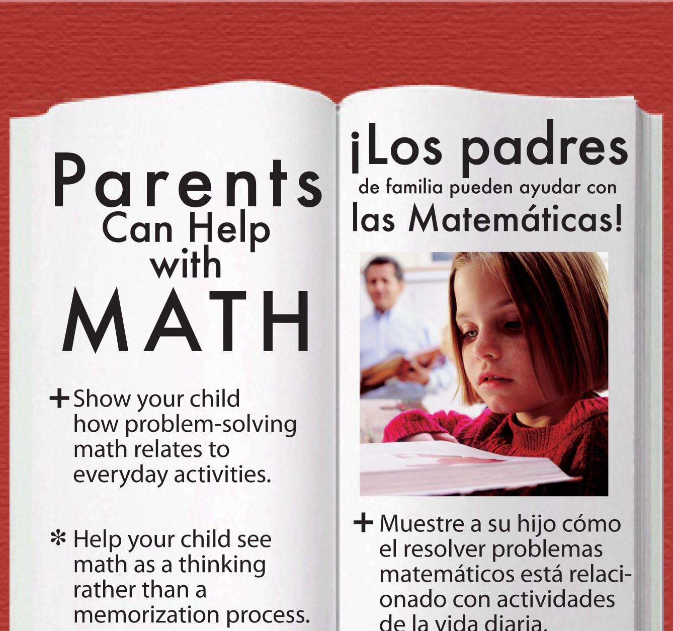 Help Math side by side bookmark
