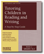 Tutoring Reading Writing 2 BookCover